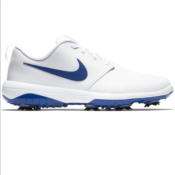 Nike Roshe G Tour Golf Shoes Blue Waterproof Men's